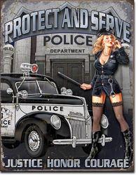"""PROTECT & SERVE"""