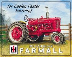 Farmall M Tin Sign