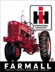 Tin Sign Farmall 400 Tractor
