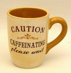 "Coffee Mug ""Caution Caffeinating Please Wait"""
