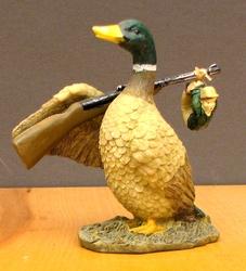 Duck Gets Sportsman