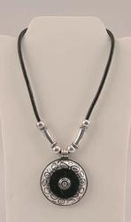 Silver Tone Pendant Necklace