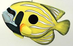 Metal Fish Bird House