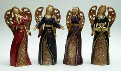 Category: Dropship Collectibles, SKU #049-99805, Title: Large Bright Angel Figurine Set of Four