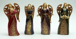 Category: Dropship Collectibles, SKU #049-99806, Title: Bright Angel Figurine Set of Four