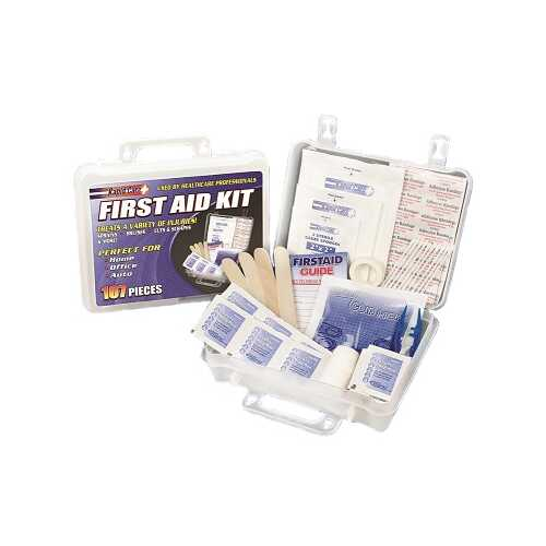 107 Piece Fist Aid Kit