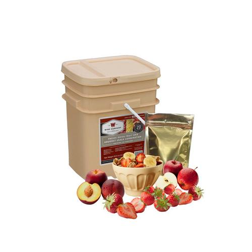 120 Serving Wise Fruit Bucket