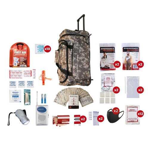 2 Person Survival Kit (72+ Hours)