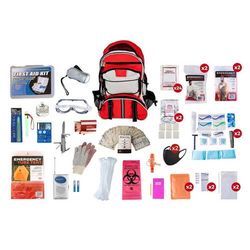 2 Person Guardian Elite Survival Kit