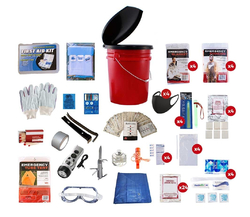 4 Person Guardian Bucket Survival Kit