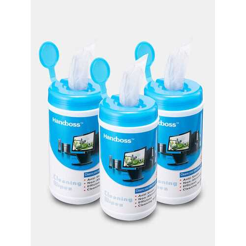 3 PCS Bottled Screen Cleaning Wipes