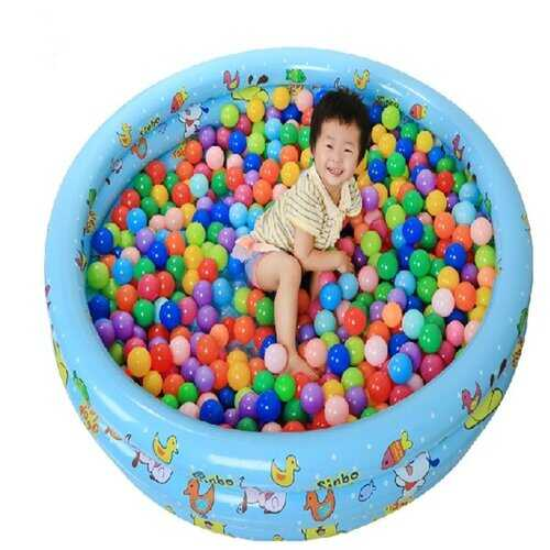 20 Pcs Colorful Plastic Ocean Ball Baby Kids Toys Swim Pit