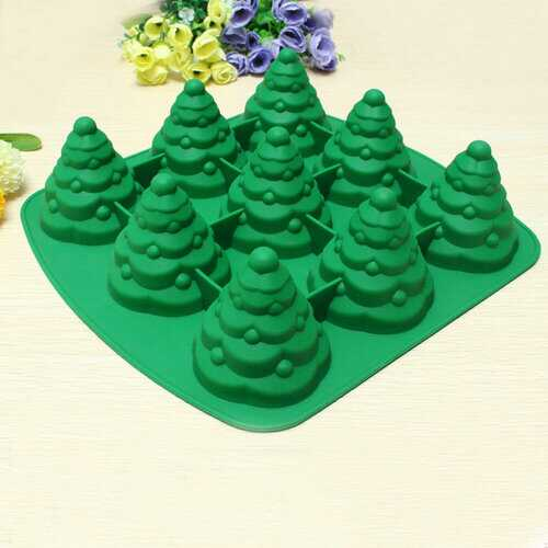 3D Christmas Tree Cake Mould Silicone