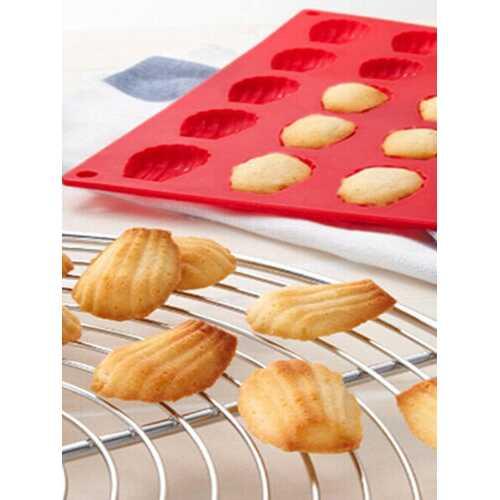 20 Cavity Mini Madeleine Shell Cake Mold