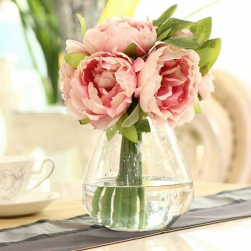 Simulation Peony Artificial Colorful Flower Wedding Party Home Cafe Decorations