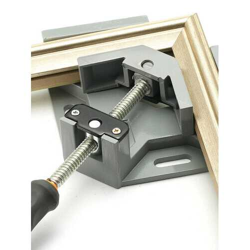 90 Degrees Corner Clamp Right Angle Woodworking Vice Wood / Metal Weld / Welding