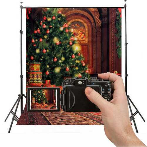 1.5X2.1m Christmas Photography Backdrop Background