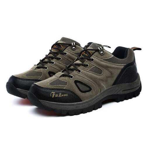 Large Size Men Breathable Hiking Shoes