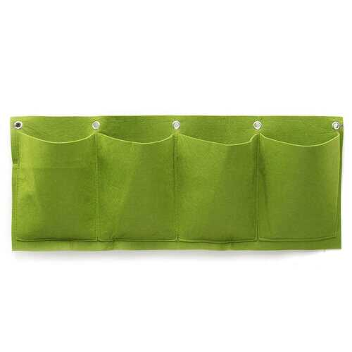 4 Pockets Wall Planter Growing Bags