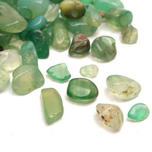 100g DIY Crystal Natural Dong ling Jade Gravel Crystal Stone