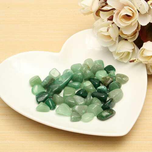100g DIY Natural Aventurine Raw Ore Crushed Quartz Gravel Crystal Stone