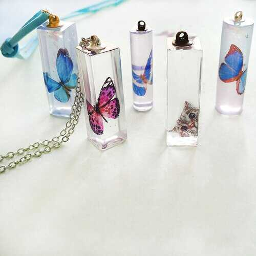1pcs DIY Mold Liquid Silicone Mold Resin Jewelry Pendant Necklace Mold