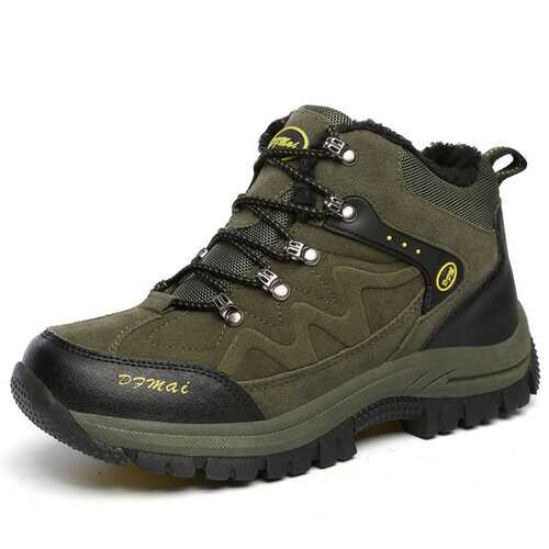 Large Size High-Top Outdoor Hiking Shoes