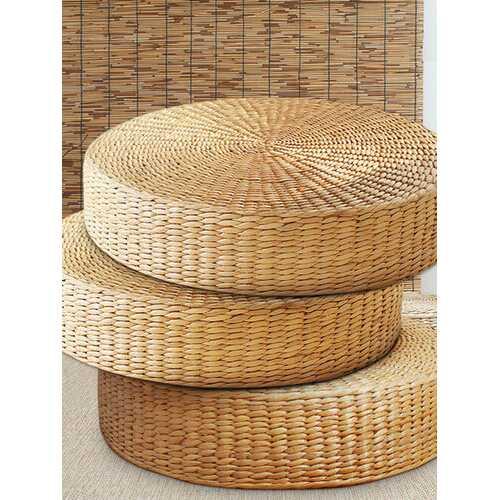 40cm Round Straw Cushion