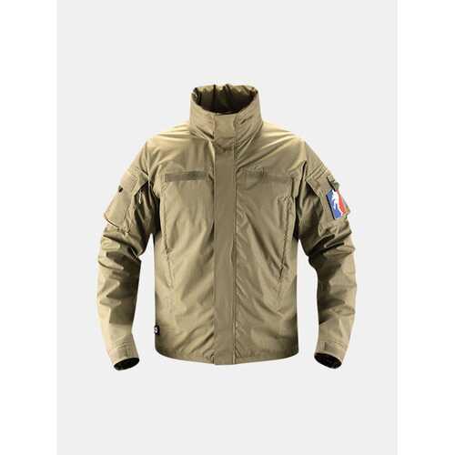 Wind-Resistant Hooded Jacket