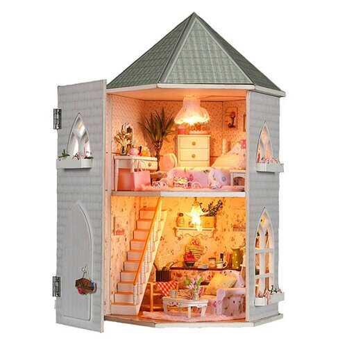 Love Castle DIY Wood Dollhouse