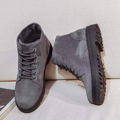 Big Size Suede Boots