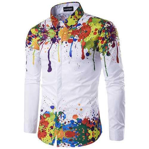 3D Splash Ink Printing Shirts