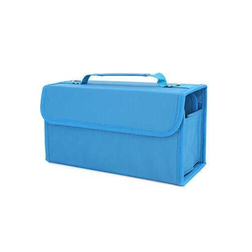 80 Slots Multi-Layer Marker Case Holder Bag For Copic Marker Primascolor Marker Storage Container