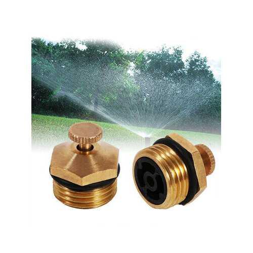 5Pcs Brass Drip Agricultural Sprayer Fountain Nozzle Garden Lawn Sprinkler Head EB Garden Tools