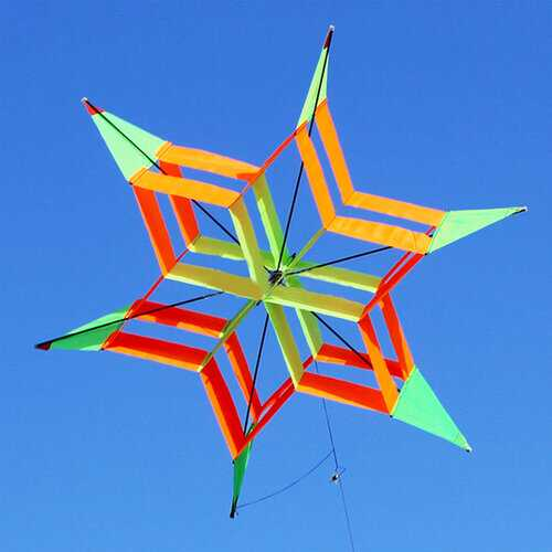 3D Colorful Flower Kite Single Line Outdoor Sports Toy Light Wind Flying Kids Beach Toys