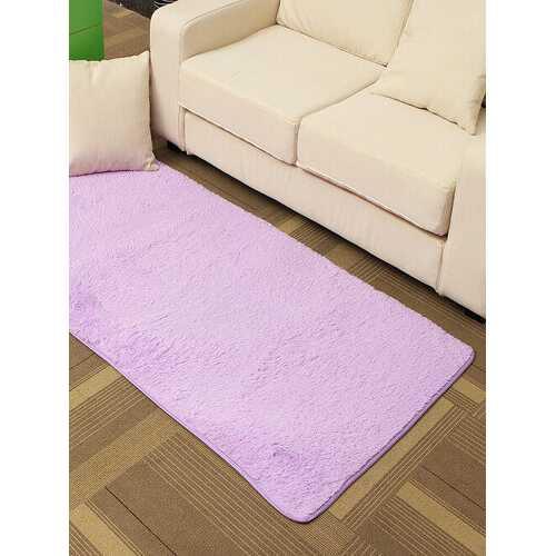 80*165cm Chunky Plain Washable Shaggy Hearth Rugs Non Slip Dark Light Fireside Mat Carpets