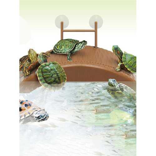 Aquarium Tank Turtle Reptile Basking Terrace Island Platform