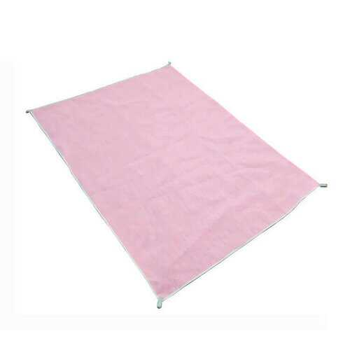 200x200CM Sand-Free Pink Pocket Mat Portable Outdoor Travel Camping Beach Seaside Pad