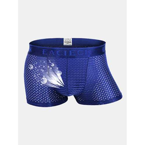 Ice Silk Thin Mesh Breathable Boxers