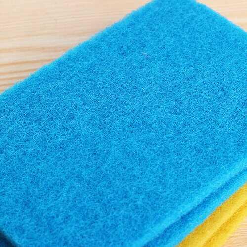 KCASA KC-CS15 10Pcs Dish Pan Washing Cleaning Sponge Brush Scrubber Dishcloth Cleaner Tool