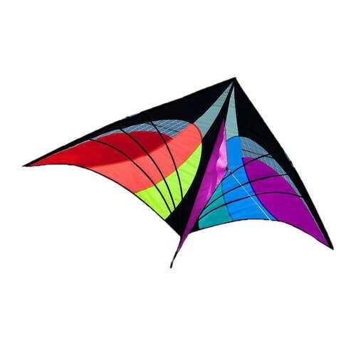 5.2ft Delta Triangle Kite Outdoor Kids Fun Sport Toy Single Line Multicolor Hot