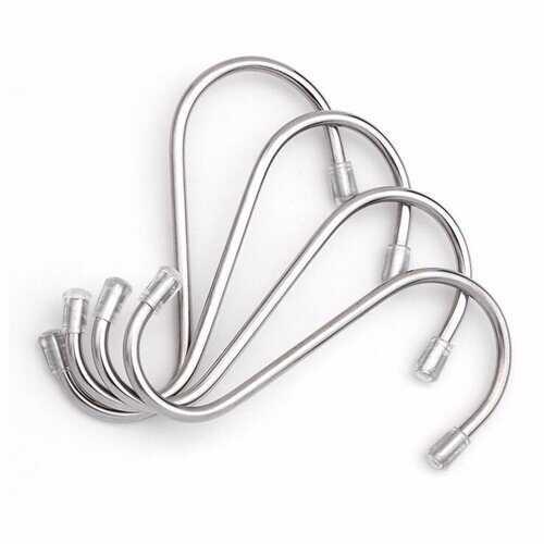 10 Pcs S Shape Hooks Stainless Steel Hanger