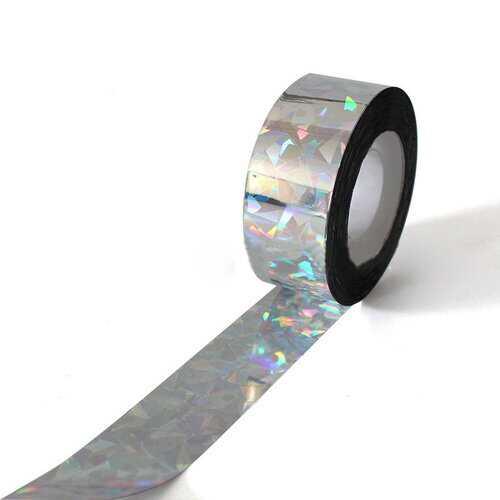 90M Laser Anti Bird Tape Belt Flash Reflective Bird Scare Ribbon Repellent Small Animals Repeller