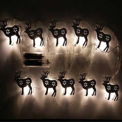 1.65M 10LEDs Elk String Light