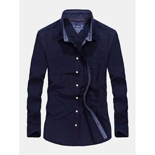 Autumn Long Sleeve Outdoor Shirts for Men