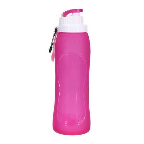 500ml Portable Silicone Folding Water Bottle