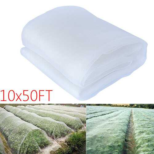 10x50ft Agfabric Mosquito Garden Bug Insect Netting