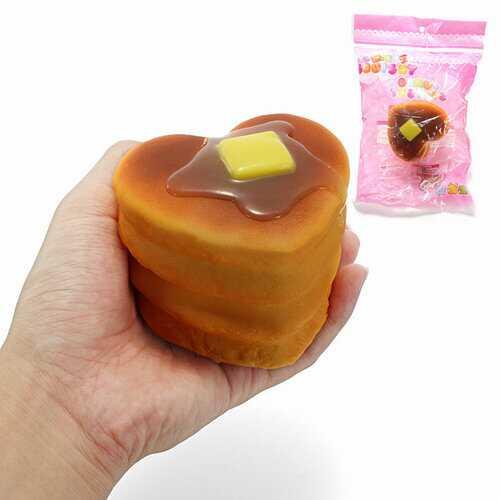 Kawaii Squishy Love Cake Toys