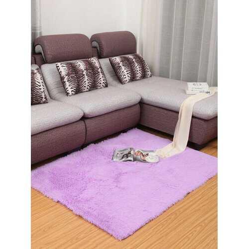 <US Instock> 36''x24''Soft Fluffy Floor Rug Anti-skid Shaggy Area Rug Plush Non-slip Home Bedroom Living Room Carpet