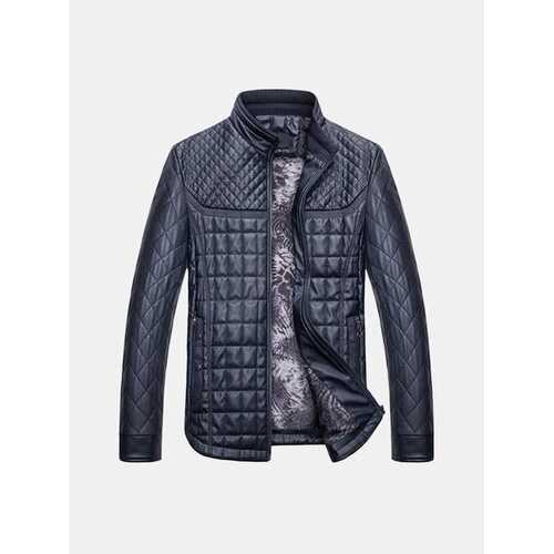 Faux Leather Inside Fleece Leather Jackets